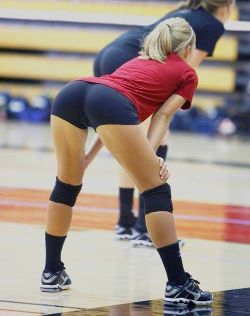 College volleyball hot pics