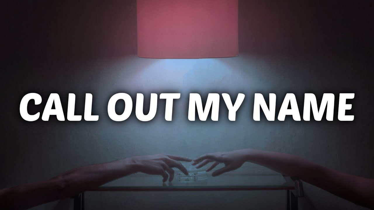 Call out my name cover