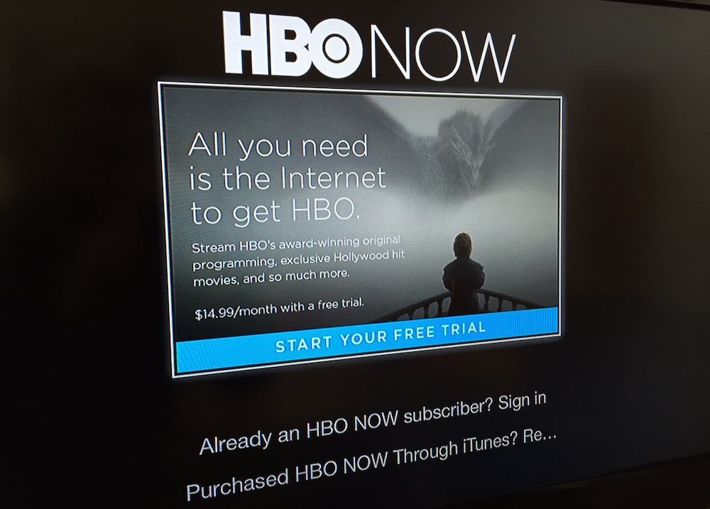 Hbo trial