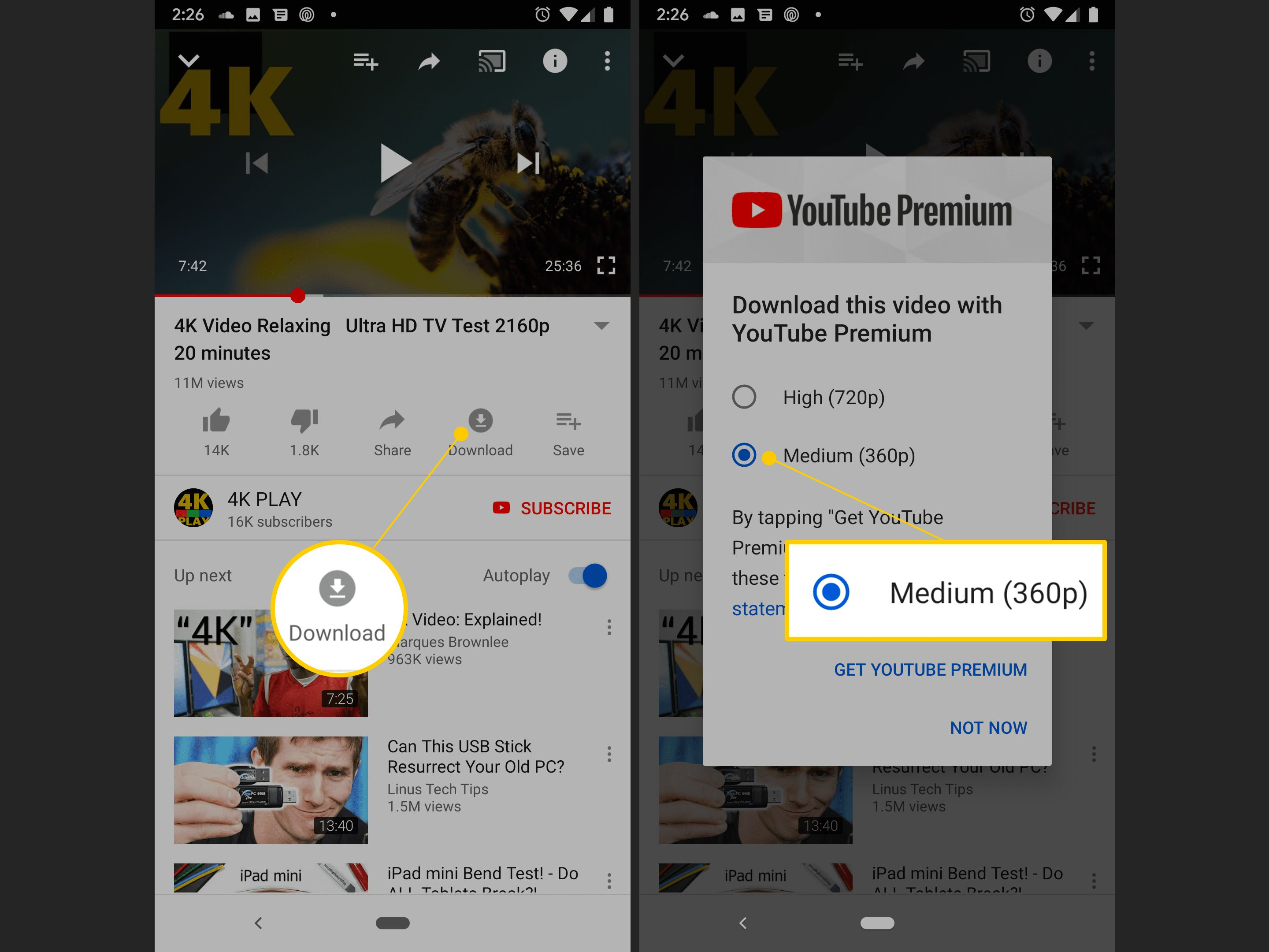 How to download music off youtube onto your phone